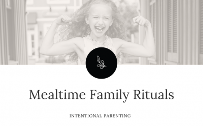 Mealtime Family Rituals